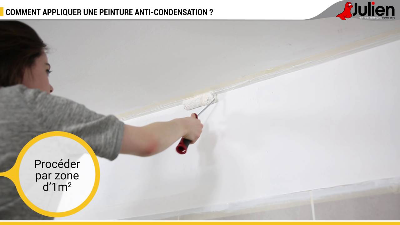 Comment Appliquer Une Peinture Anti Condensation Peintures Julien
