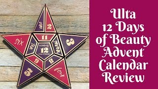 product-reviews-2018-ulta-12-days-of-beauty-advent-calendar