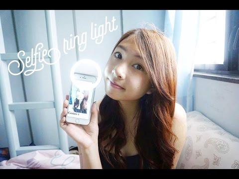 selfie ringlight review!