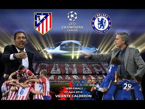 Atletico Madrid vs Chelsea London 0-0 [22.04.14] UEFA Champions League Halbfinale [alexpato] ᴴᴰ