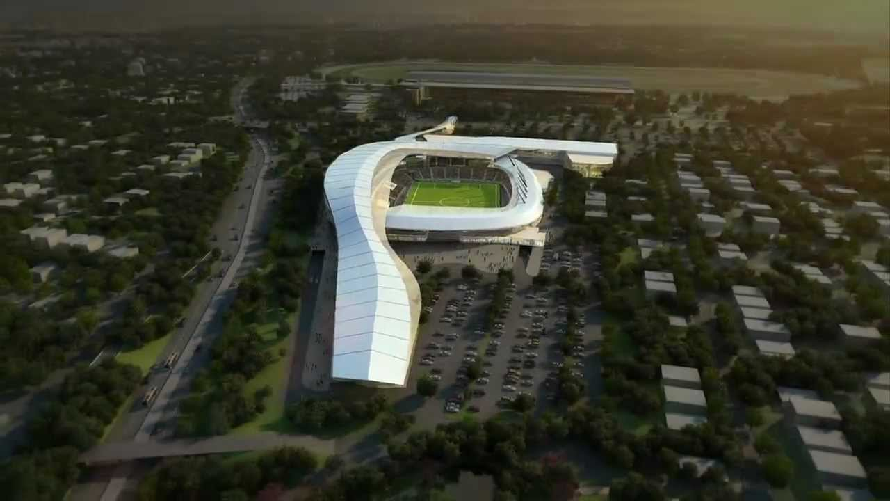 Video Animation Of The Proposed New Cosmos Stadium Youtube