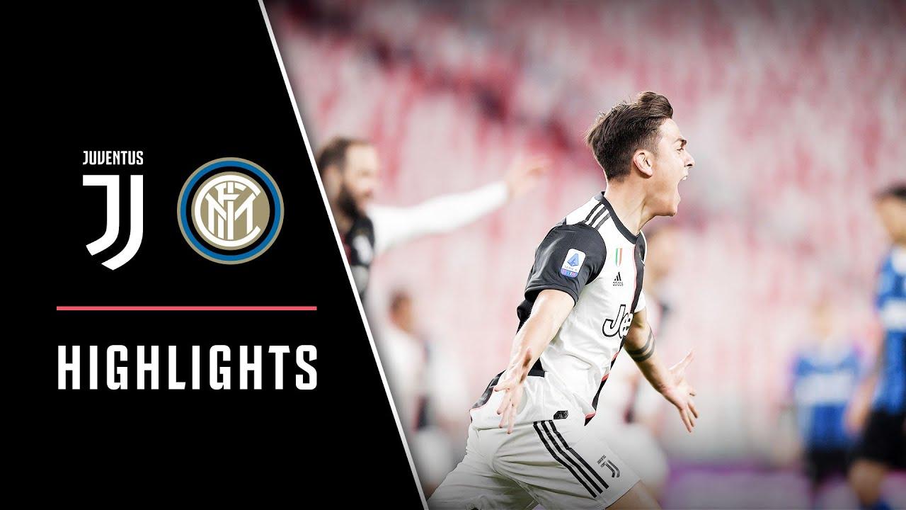Juventus Vs Inter Milan 2 0 Ramsey Dybala Seal Derby D Italia Highlights Youtube