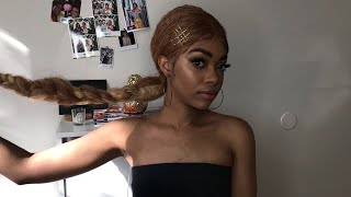 HOW TO SLAY A SYNTHETIC WIG || DIVATRESS REVIEW!!!