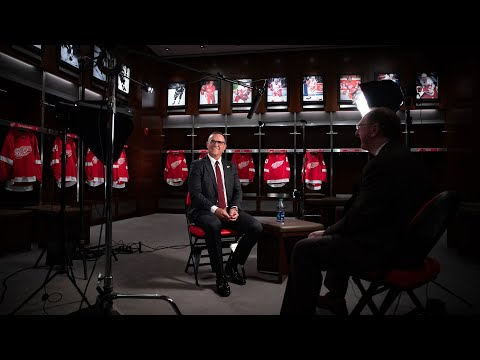 """""""Welcome Home""""   Steve Yzerman's First Day as GM"""
