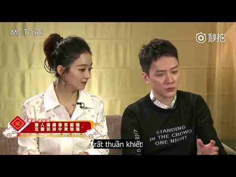 [Vietsub] Nữ nhi quốc- Phỏng vấn Triệu Lệ Dĩnh và Phùng Thiệu Phong