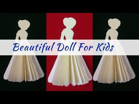 Paper Doll |  Paper Doll Crafts Easy | Paper Crafts |  Doll Making Tutorial
