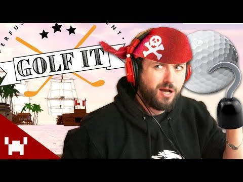 WELCOME TO... THE PYRATE BAY? | Golf It! Custom Levels w/ Ze, Nanners, Gassy, & CaptainSparklez