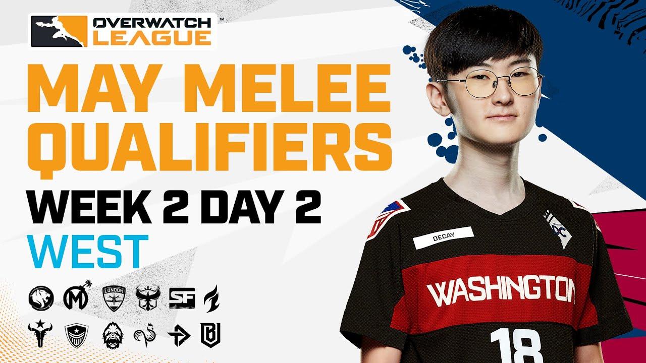 Overwatch League 2021 Season | May Melee Qualifiers | Week 2 Day 2 — West