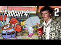 MENEER KRABS BOSSFIGHT Fallout 4 Playthrough 2