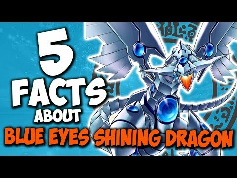 5 Facts About Blue Eyes Shining Dragon - YU-GI-OH! Facts & Trivia
