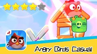 Angry Birds Casual Level 62-63 Walkthrough Sling birds to solve puzzles! Recommend index four stars