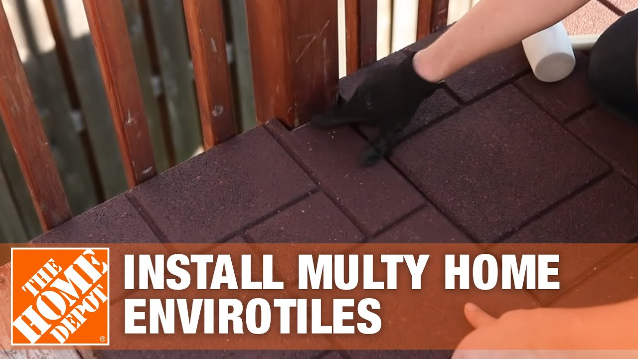 how to install multy home envirotiles the home depot