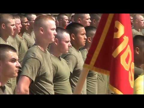Kev Marine boot camp graduation june 9th 2017