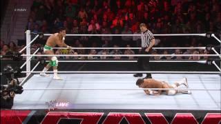 Alberto Del Rio vs. Cody Rhodes: Raw, Feb. 4, 2013