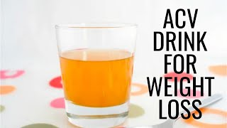 Apple Cider Vinegar - Weight Loss / Weight Loss ACV