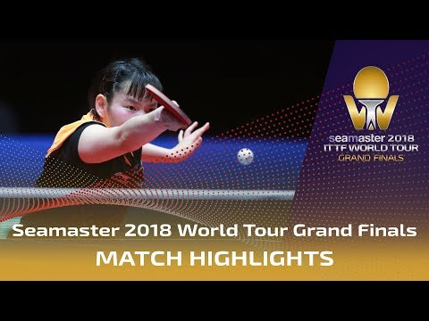 Ding Ning Vs He Zhuojia   2018 ITTF World Tour Grand Finals Highlights (1/2)