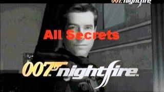 James Bond 007: Nightfire (All Secrets)