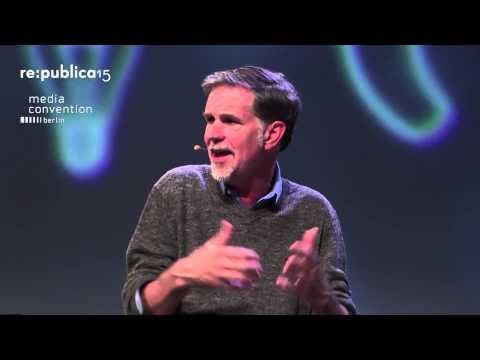 MEDIA CONVENTION Berlin 2015 – Talk with Netflix CEO Reed Hastings on YouTube