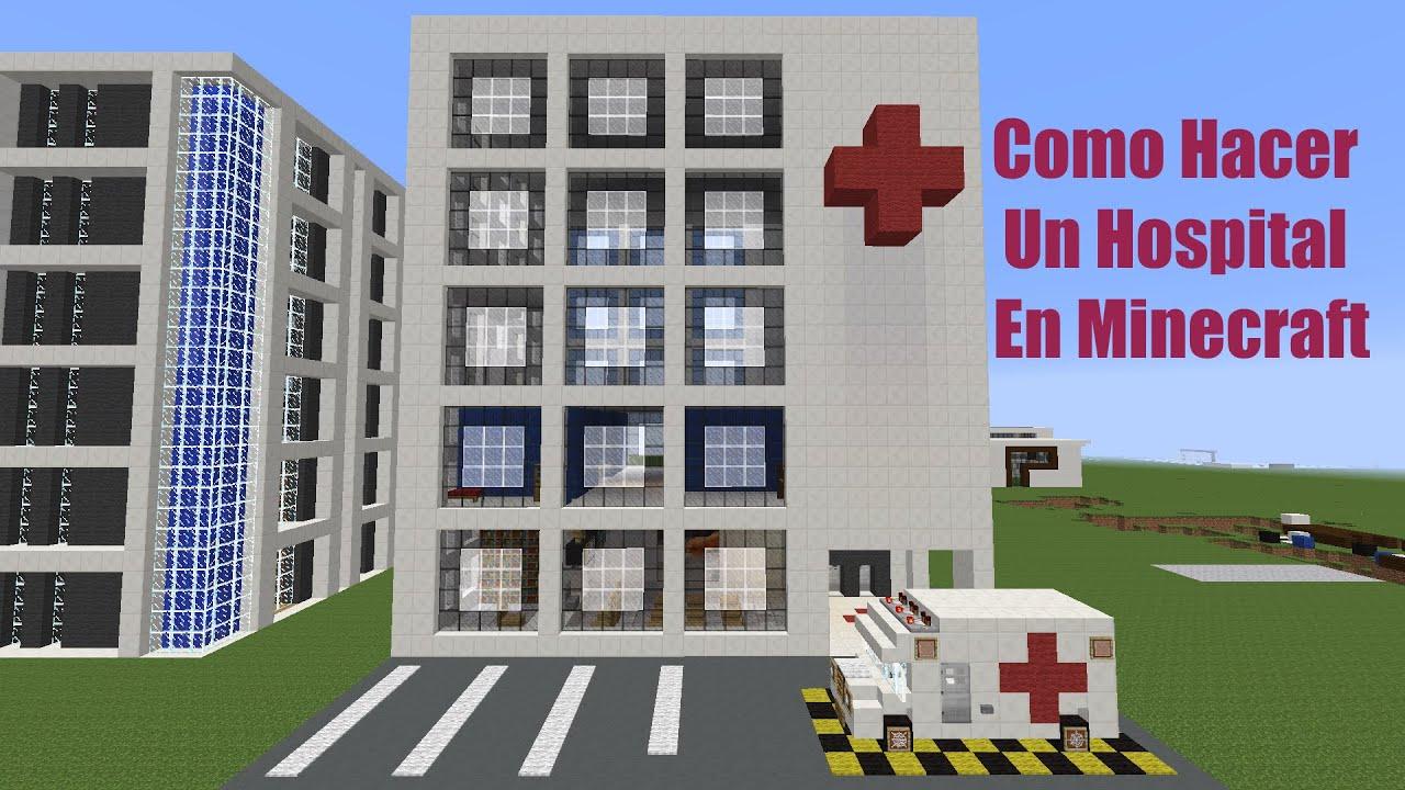Como Hacer Un Hospital Y Un Edificio En Minecraft 2da Pt