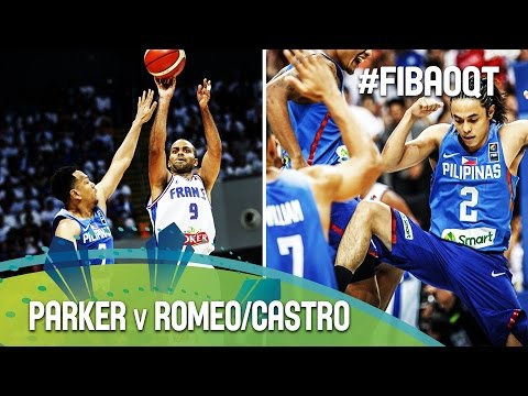 Parker v Romeo/Castro - Battle of the point guards