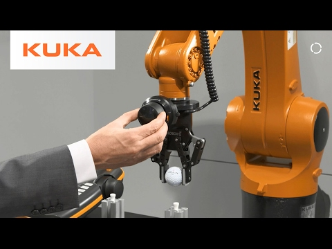KUKA ready2_pilot - Robots Taught Instead of Programmed