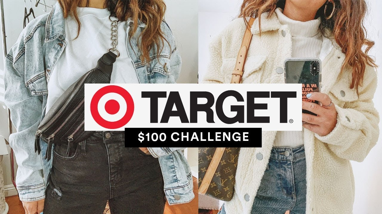 $100 Challenge: Target || Casual Cool Winter Outfits 2