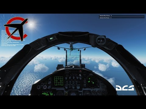 How not to Air to Air Refuel - F-15C - DCS