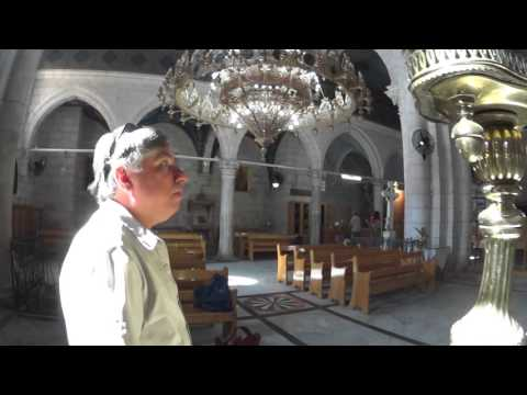 The story of the church where St George is buried. Lod. Israel . Tour Guide: Mordecai Ben-Jehuda