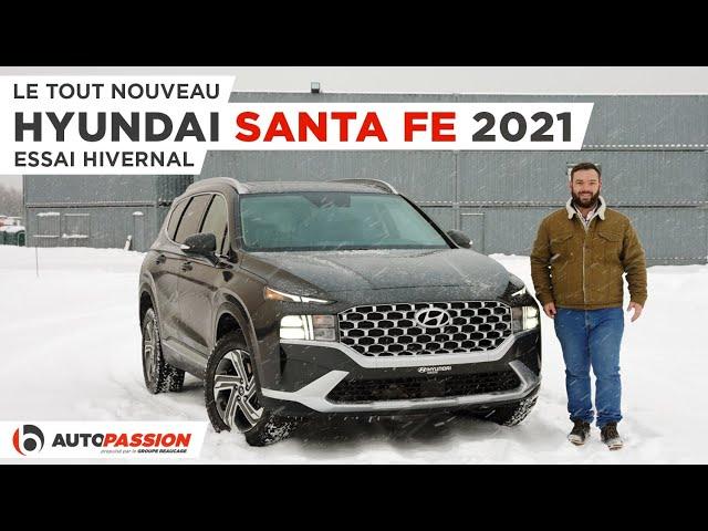 Hyundai Santa Fe 2021 - Encore Plus Luxueux et Confortable !