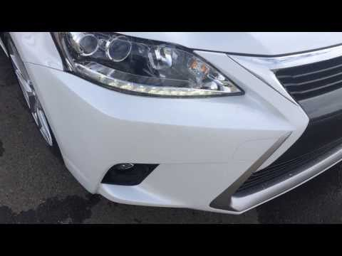 2014 Lexus CT 200h Hybrid in White Starfire Pearl - Touring Package Review