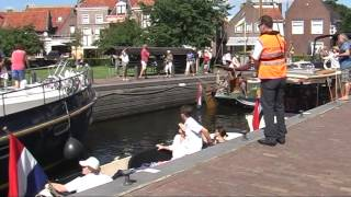 Vaartocht van Ossenzijl naar Blokzijl door De Weerribben-Wieden