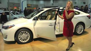 2013 toyota avalon hybrid limited review interior exterior