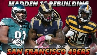 Madden 17 Connected Franchise | Rebuilding The San Francisco 49ers | THE BEST RECEIVER IN MADDEN 17