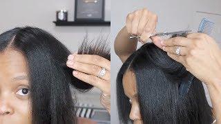 Watch Me TRIM My Hair   Layered Trim   Step by Step