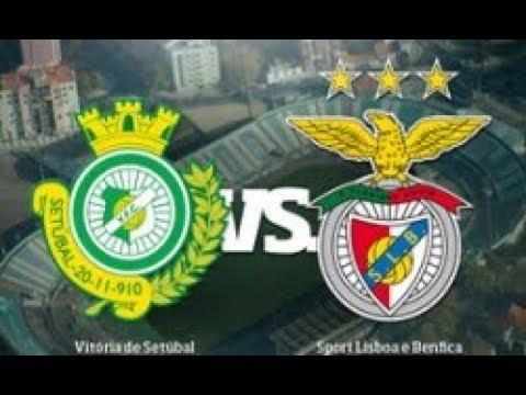 Vitória de Setúbal X Benfica