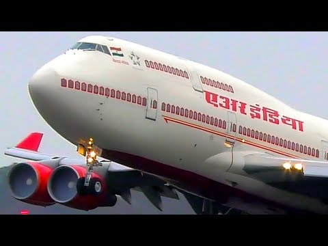 AIR INDIA ONE Boeing 747 Takeoff at Melbourne Airport with President Ram Nath Kovind ONBOARD!