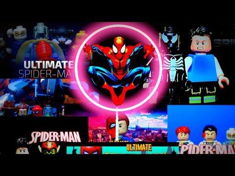 "LEGO Разбор сериала ""Ultimate Человек Паук"" от TheLegoEnot"