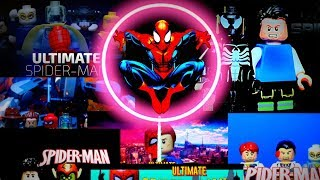 "LEGO Разбор сериала ""Ultimate Человек Паук"" от TheLegoEnot 18+"