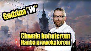 Mocne przemГіwienie po prowokacji na Marszu Powstania Warszawskiego