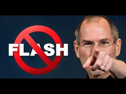 Steve Jobs Was Right: Adobe Flash is Dead!
