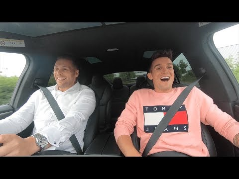 My first electric car with @deanredline
