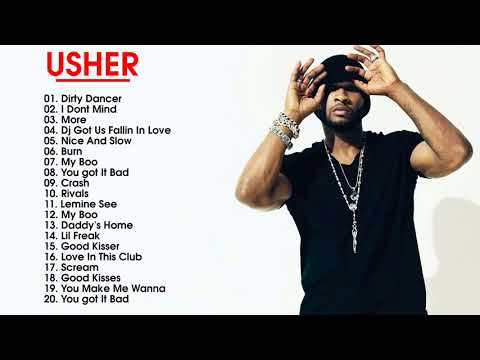 Usher Greatest Hits - Top 30 Best Songs Of Usher playlist