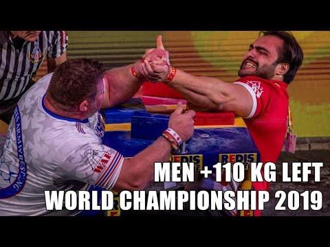 SENIOR MEN +110 KG LEFT HAND FULL CLASS (World Armwrestling Championship 2019)