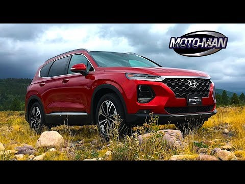 2019 Hyundai Santa Fe CUV TECH REVIEW Design in a sea of Crossover beige . . . 1 of 2