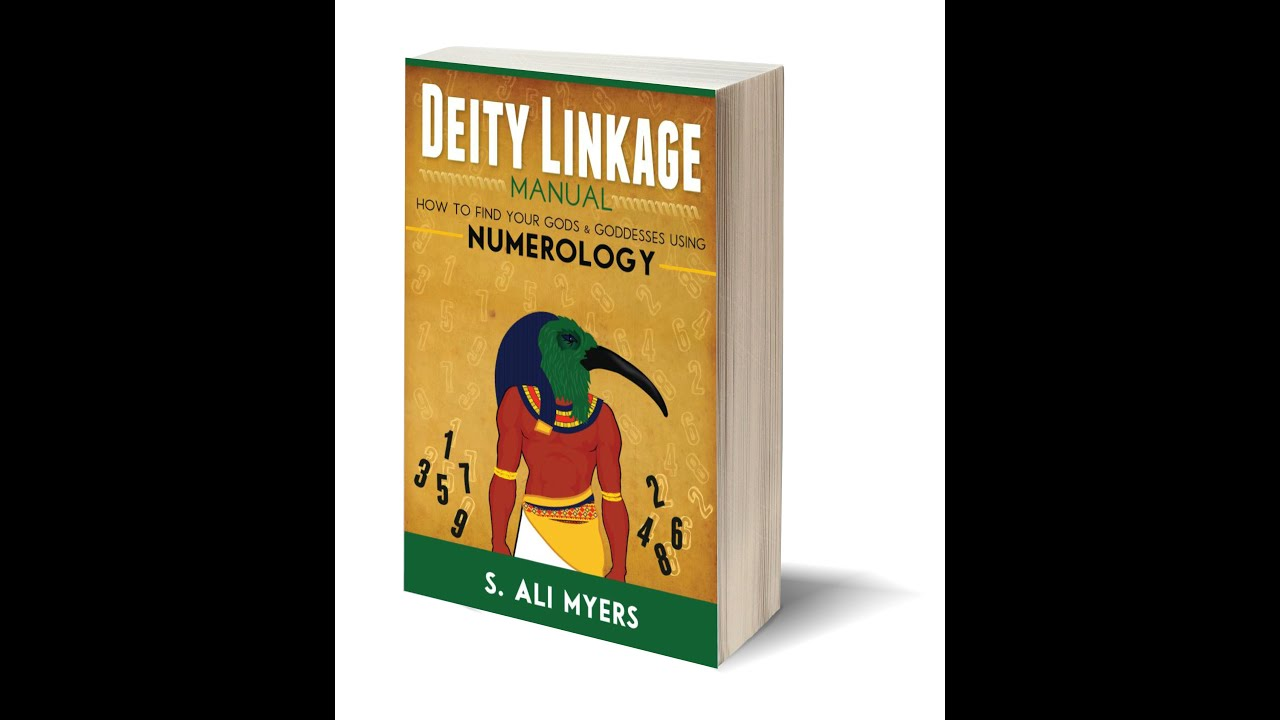 Sneak Peek   Deity Linkage Manual: How to Find Your Gods and Goddesses  Using Numerology