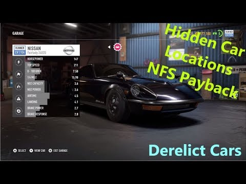 Derelict Car Location Need For Speed Payback Youtube