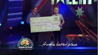 Aussie Apples Home Grown Talent Winner