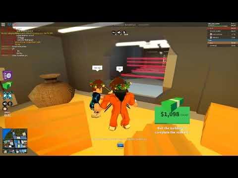 New Bank Escape Route Roblox Jailbreak Youtube