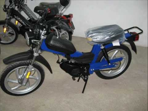The best 50 cc Motorcycle / Moped in last 40 years TOMOS APN 6S 2012 made