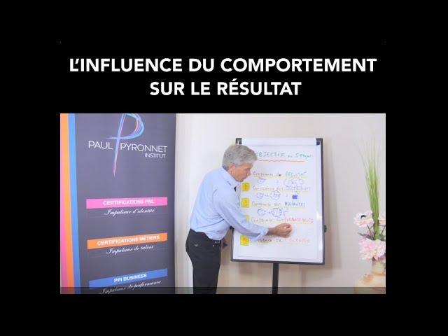 L'influence du comportement sur le résultat - Paul Pyronnet